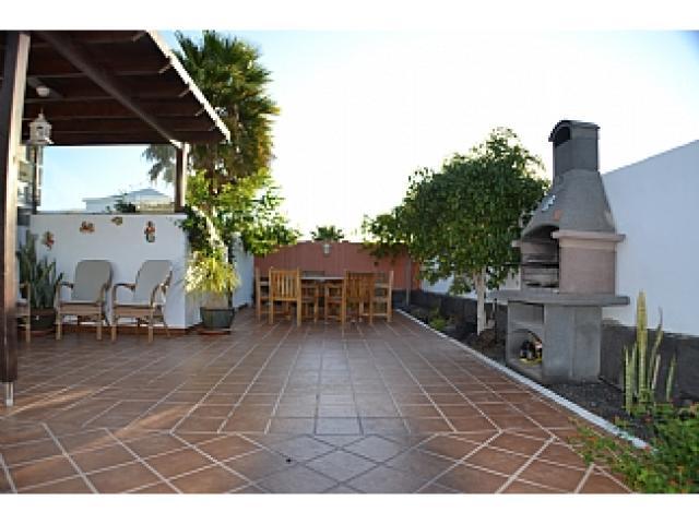 Terrace - Villa Ahlmatel, Playa Blanca, Lanzarote